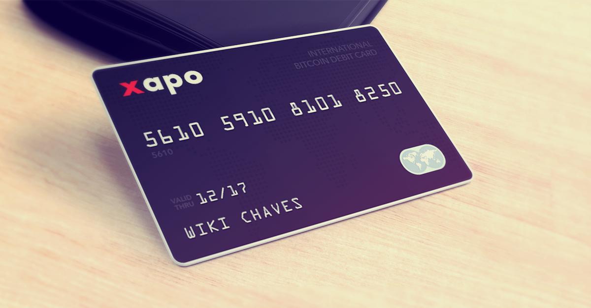 Χρεωστική κάρτα XAPO