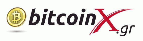 Λογότυπο BitcoinX.gr