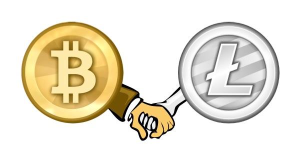 Bitcoin & Litecoin Χέρι-Χέρι