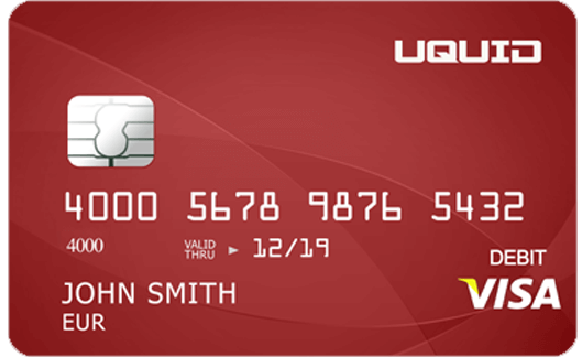 UQUID Visa Card